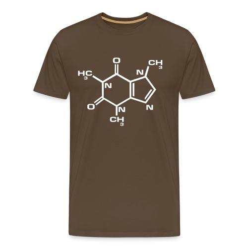 Caféïne - T-shirt Premium Homme