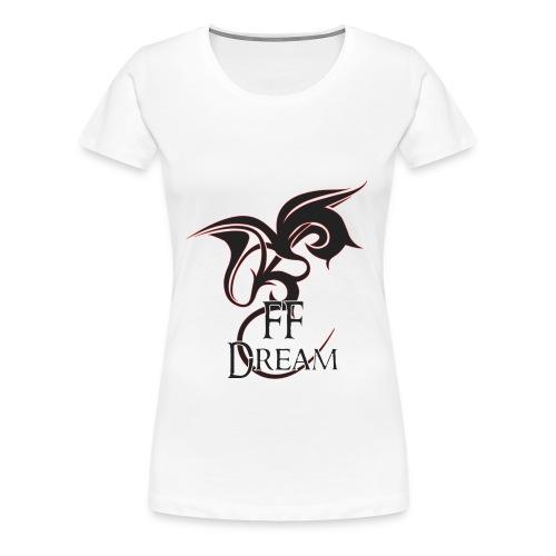 Classique FFDream - logo rouge - T-shirt Premium Femme