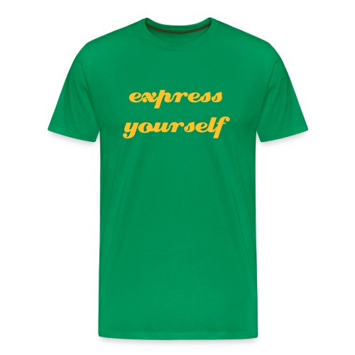 Express yourself - Mannen Premium T-shirt
