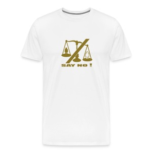 Weigh it up T - Men's Premium T-Shirt