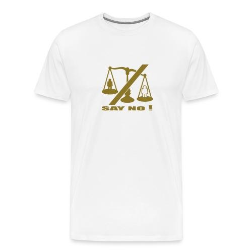 Weigh it up T - Men's Premium T-Shirt