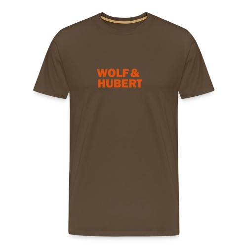 Wolf & Hubert - Men's Premium T-Shirt