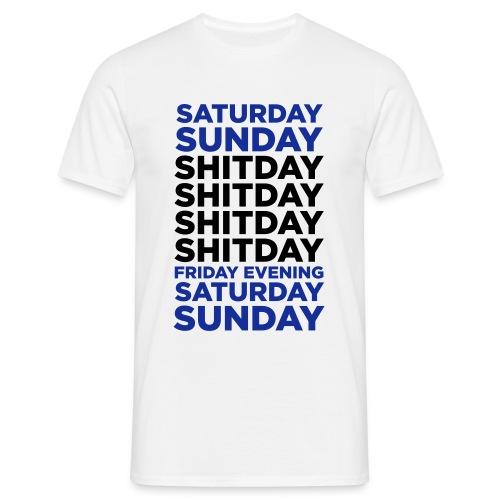 SHITDAY - T-shirt herr