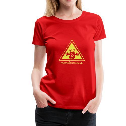 Frauen Premium T-Shirt - Die T-Shirtfarbe ist frei wählbar, beachten Sie bitte das das Motiv am besten auf dunklen Textilien zur Geltung kommt.