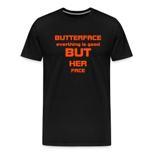 BUTTERFACE - Männer Premium T-Shirt