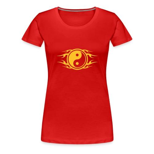 YING YANG femme - T-shirt Premium Femme