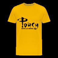 Tee shirts ~ T-shirt Premium Homme ~ Poucy contre les vampires
