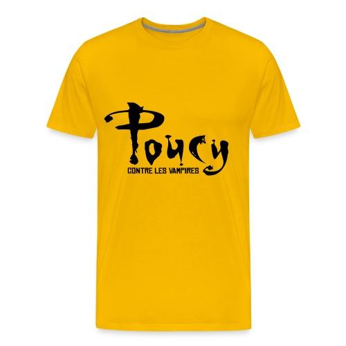 Poucy contre les vampires - T-shirt Premium Homme