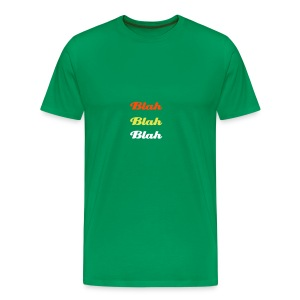 Blah Blah Blah - Men's Premium T-Shirt
