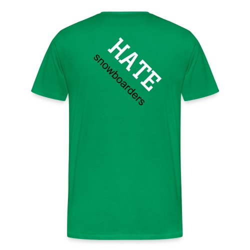 Love Hate T - Men's Premium T-Shirt