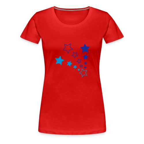 Stars Continental - Women's Premium T-Shirt