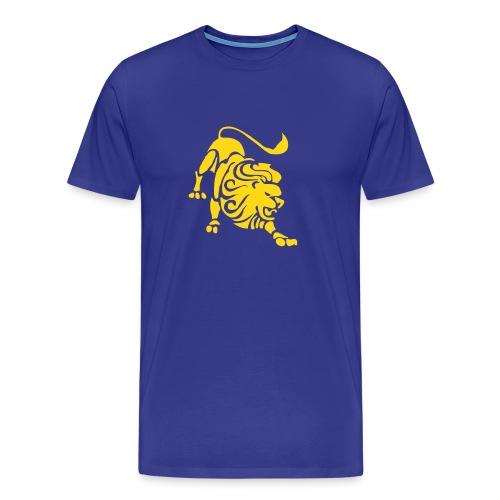 Sverige Lejon T-shirt - Premium-T-shirt herr