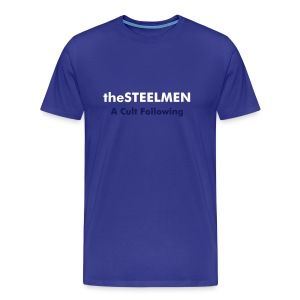 theSTEELMEN A Cult Following Tee (Royal) - Men's Premium T-Shirt