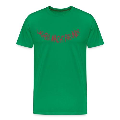 FreuNde: Double Red (Druck vorn und hinten) - Männer Premium T-Shirt