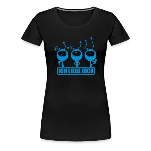 ILY Alien/Ameise - Frauen Premium T-Shirt