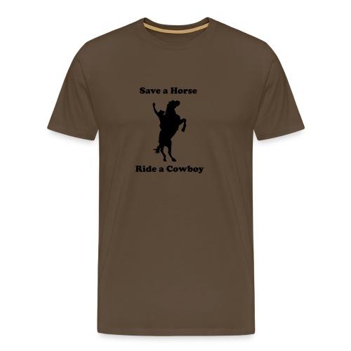 Comfort T-Shirt - Ride A Cowboy - Men's Premium T-Shirt