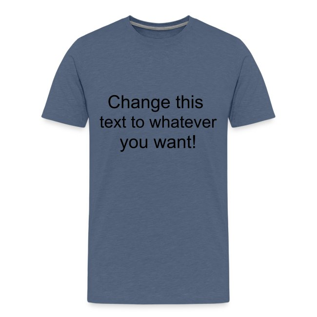 Change this text to whatever you want! - yellow kids T shirt