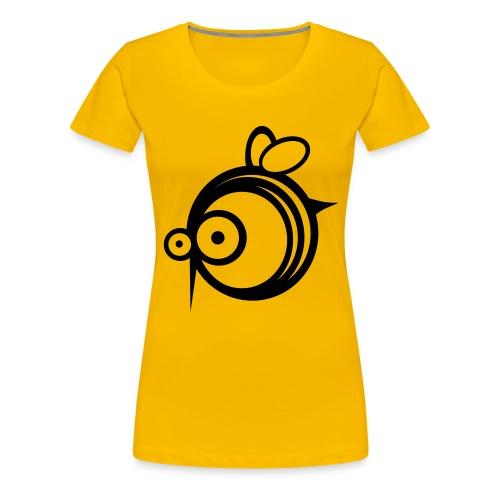 guêpes fille jaune - T-shirt Premium Femme