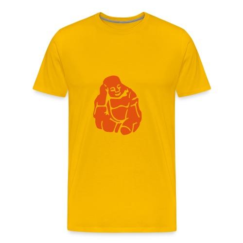 Comfort T Motivshirt Buddha) (yellow) - Männer Premium T-Shirt