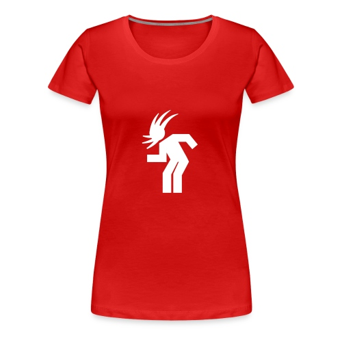 red top - Women's Premium T-Shirt