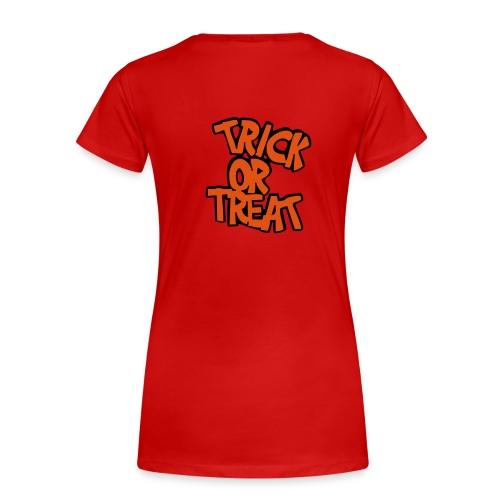 Trick or Treat design - Women's Premium T-Shirt