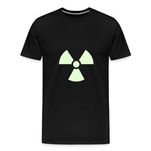 Radioactive white - Premium T-skjorte for menn