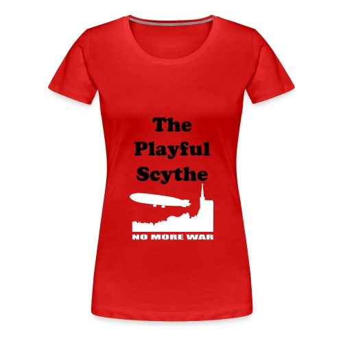 TPS red/white classic T (female) - Women's Premium T-Shirt