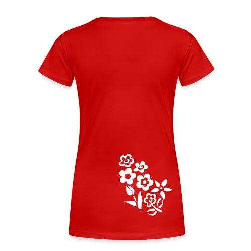 Swiss Devlin Fiori I T-Shirt (W) - Maglietta Premium da donna
