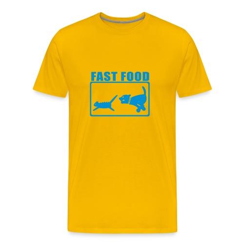 fast food - Maglietta Premium da uomo