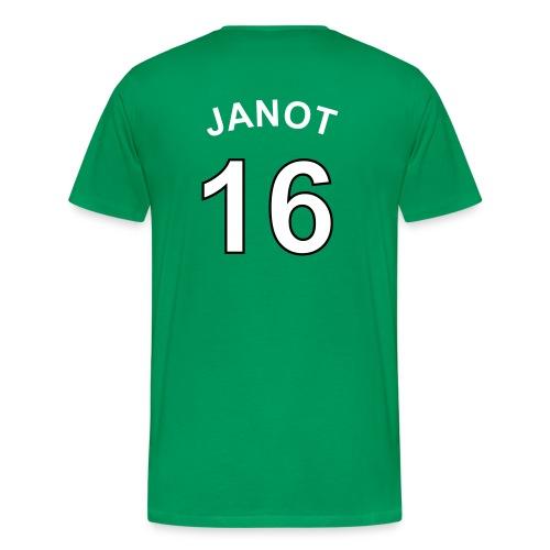 T-shirt jeremie-janot.net VERT - T-shirt Premium Homme