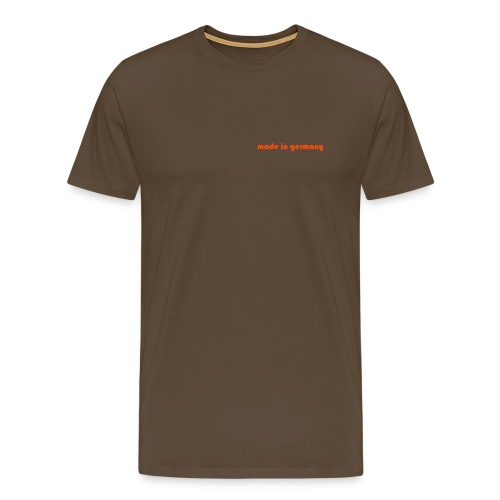 made in germany tee - Men's Premium T-Shirt