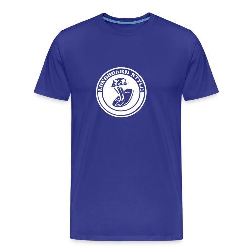 Surf Longboard - Men's Premium T-Shirt