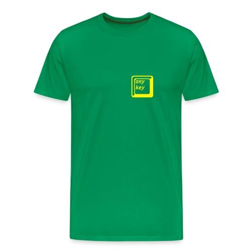 Any key - Men's Premium T-Shirt
