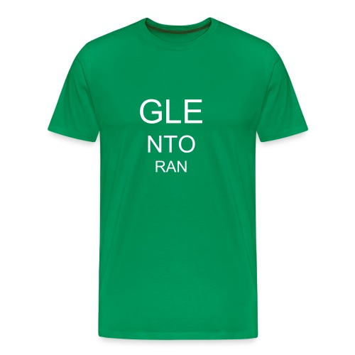 Glentoran eyetest - Men's Premium T-Shirt