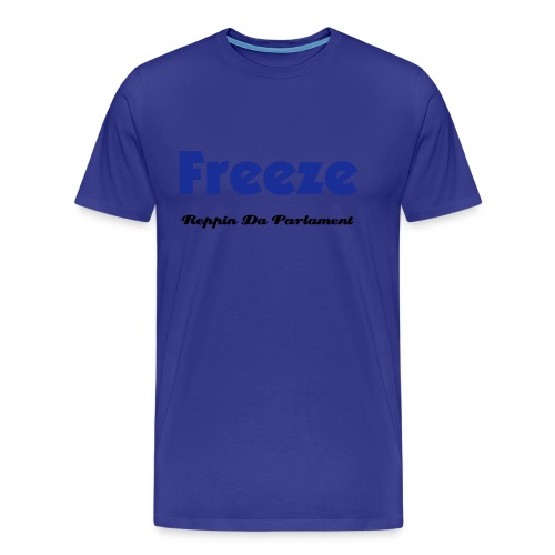 Freeze T BLUE - SAY UR A - Men's Premium T-Shirt