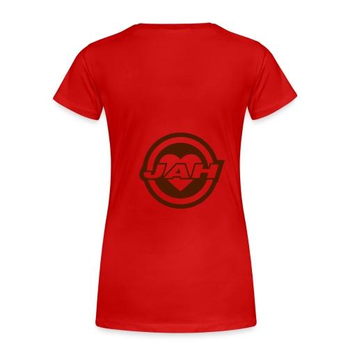 Kärleks tröja - Premium-T-shirt dam