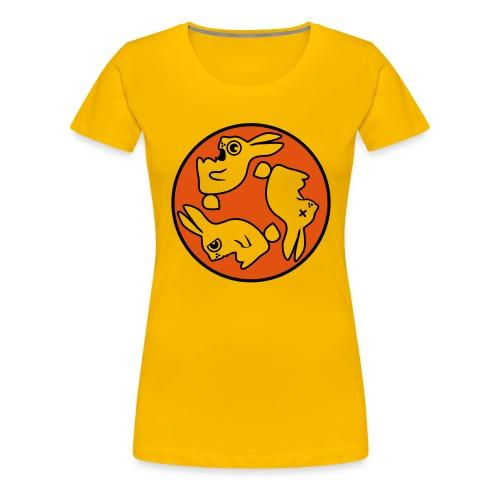 bunnyring - Frauen Premium T-Shirt