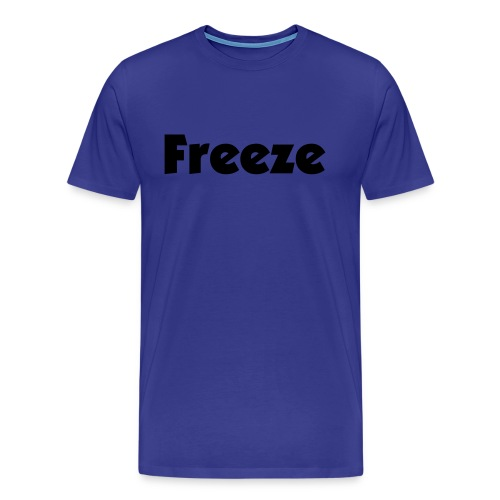 Freeze T BLUE - GHETTO - Men's Premium T-Shirt