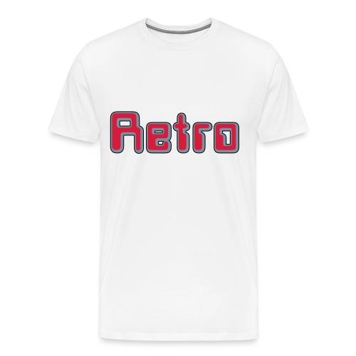 RETRO XXXL-Shirt - Männer Premium T-Shirt