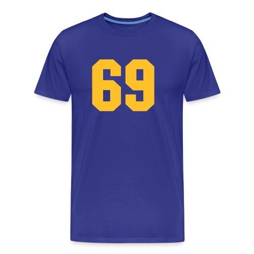 69 - Mannen Premium T-shirt
