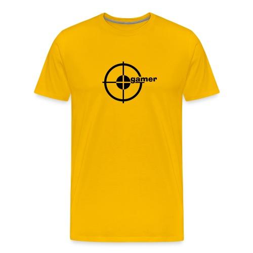 Premium-T-shirt herr - Cs gamer? Köp denna då