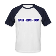T-Shirts ~ Men's Baseball T-Shirt ~ Captain Leader Legend