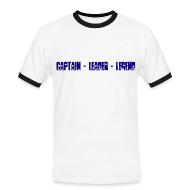T-Shirts ~ Men's Ringer Shirt ~ Captain Leader Legend