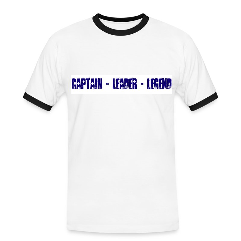 Captain Leader Legend - Men's Ringer Shirt