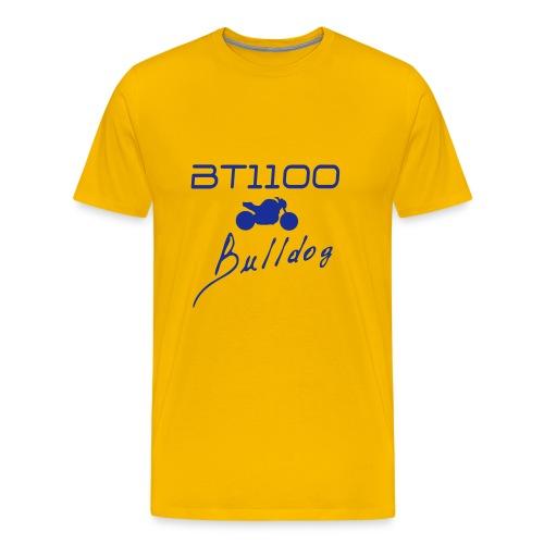 Comfort-T jaune - T-shirt Premium Homme