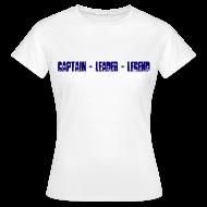 T-Shirts ~ Women's T-Shirt ~ Captain Leader Legend