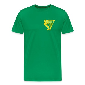 Erin Go Bragh - Harp Only - Men's Premium T-Shirt