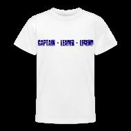 Shirts ~ Teenage T-shirt ~ Captain Leader Legend