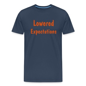 Expectations - Männer Premium T-Shirt