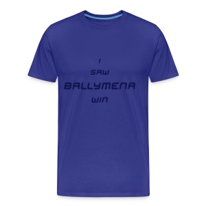 Ballymena United - Men's Premium T-Shirt